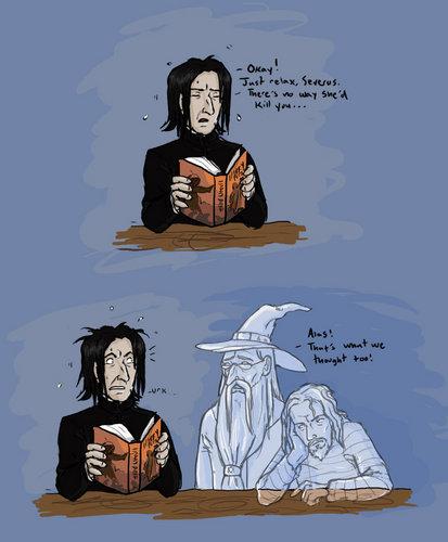 Not Snape - comic