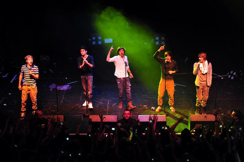 One Direction at Edinburgh