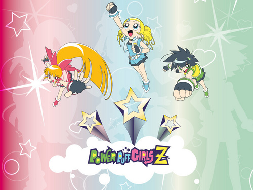 PPGZ - powerpuff-girls-z Wallpaper