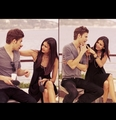 Paul & Nina - paul-wesley-and-nina-dobrev fan art