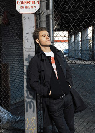 Paul Wesley in Woman's Wear Daily - New Photoshoot!