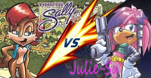 Princess Sally Acorn vs Julie-Su