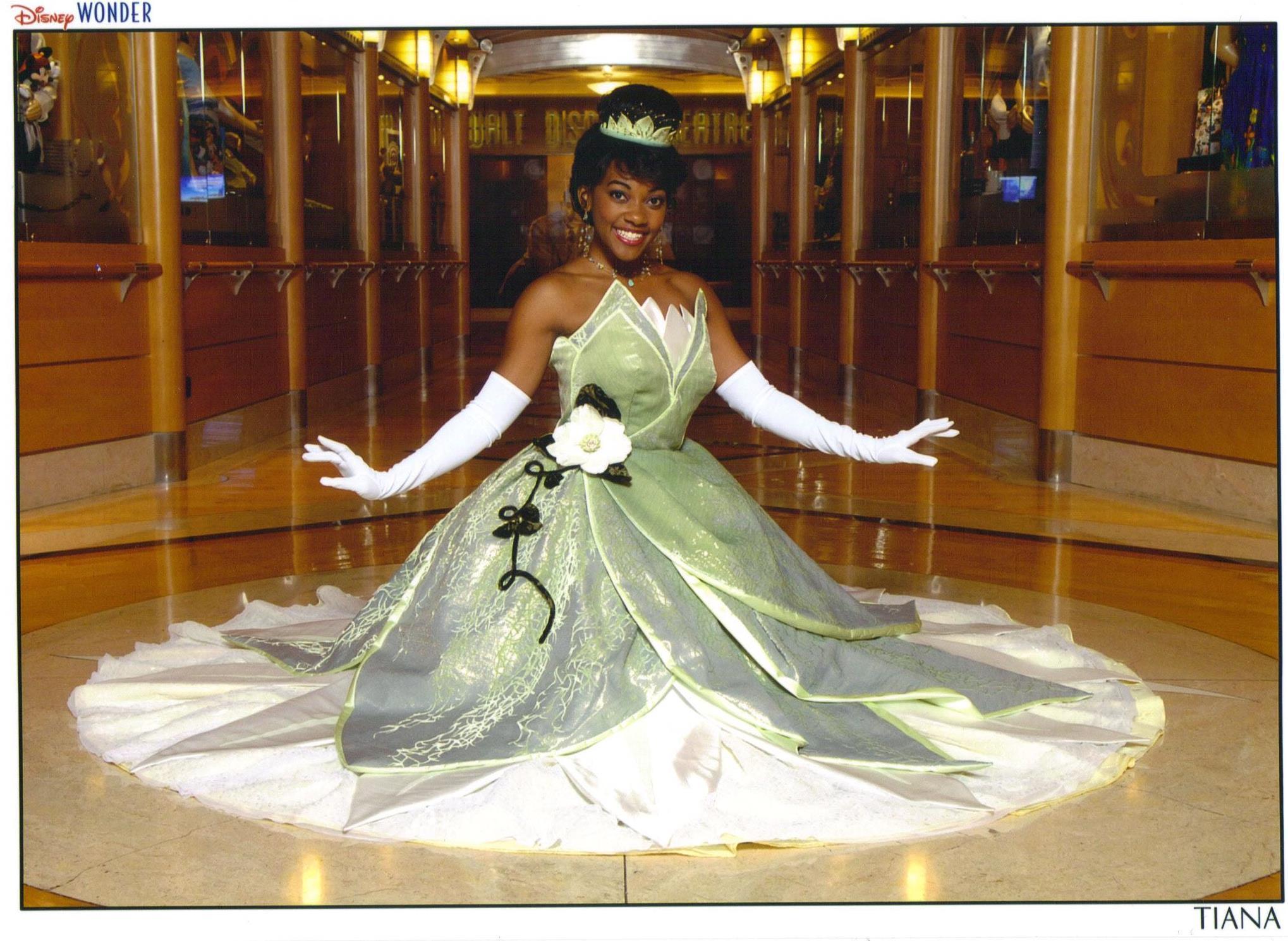Princess Tiana Images Princess Tiana On Disney Wonder Hd