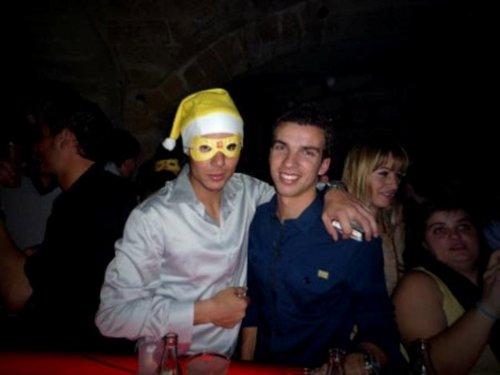 Rafa Nadal New Year's Eve 2010