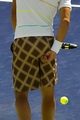 Rafa patterned scratching ass - rafael-nadal photo