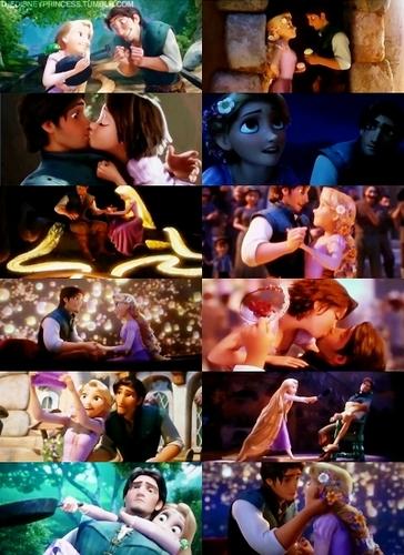 Công chúa tóc mây hình nền titled Rapunzel & Eugene(Flynn)