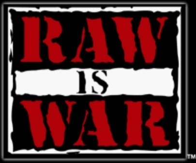 WWF Attitude Era 壁纸 titled Raw is War logo