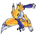 Renamon - renamon fan art