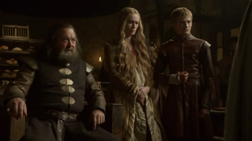 Robert, Cersei & Joffrey