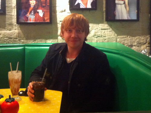Rupert Grint At Tinseltown
