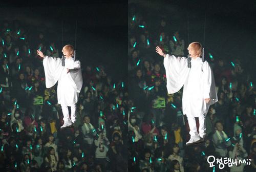 SHINee _first концерт in Япония ^^