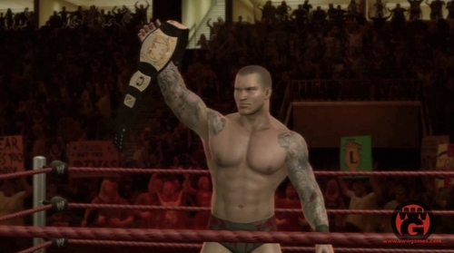 Randy Orton wallpaper titled SVR 2010 Randy orton