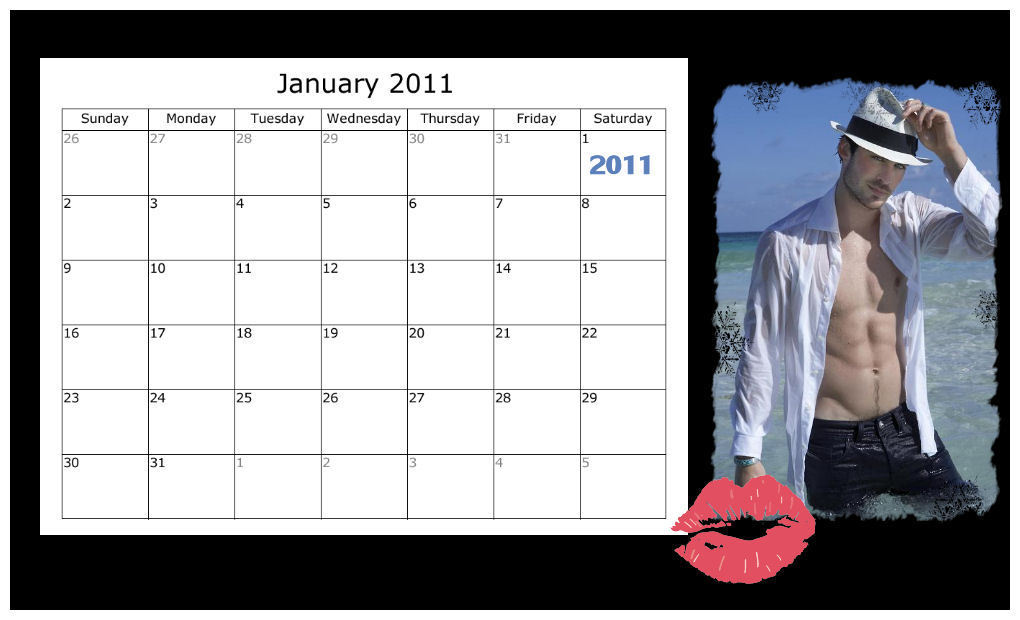 Calendar Pictures For January