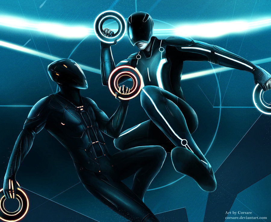 Team Tron Images Sam And Rinzler HD Wallpaper Background Photos