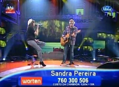 Sandra Pereira Vencedora edição 2010