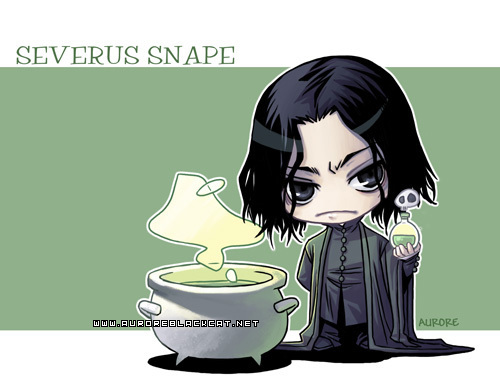 Severus Snape wallpaper containing anime called Severus chibi