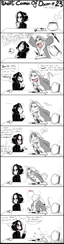 Snape - Short comic of Doom - comic