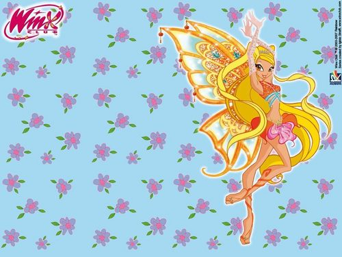Stella Enchantix - winx-club-stella Wallpaper
