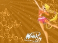 Stella On Ice - winx-club-stella wallpaper