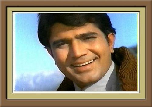 Super étoile, star Rajesh Khanna