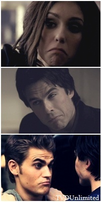 TVD - funny faces :P