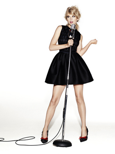 Taylor pantas, swift - Photoshoot #112: Glamour (2010)