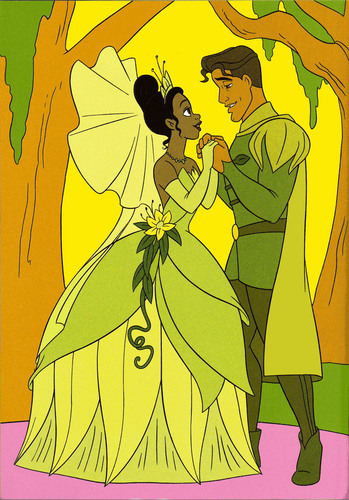 Tiana & Naveen after their wedding =)