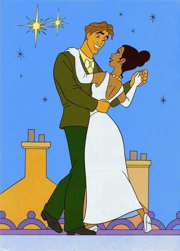 Tiana & Naveen dancing