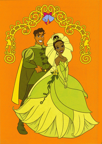 Tiana & Naveen ^^