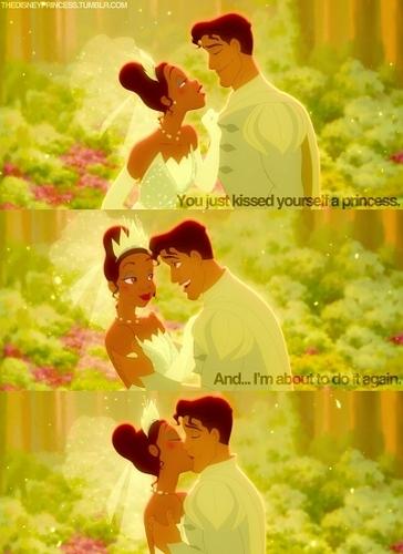 Tiana & Naveen's baciare