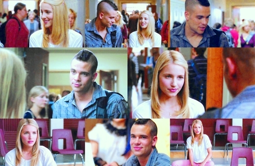 parte superior, arriba 10 Puck and Quinn Scenes |(In episodic order)| #4