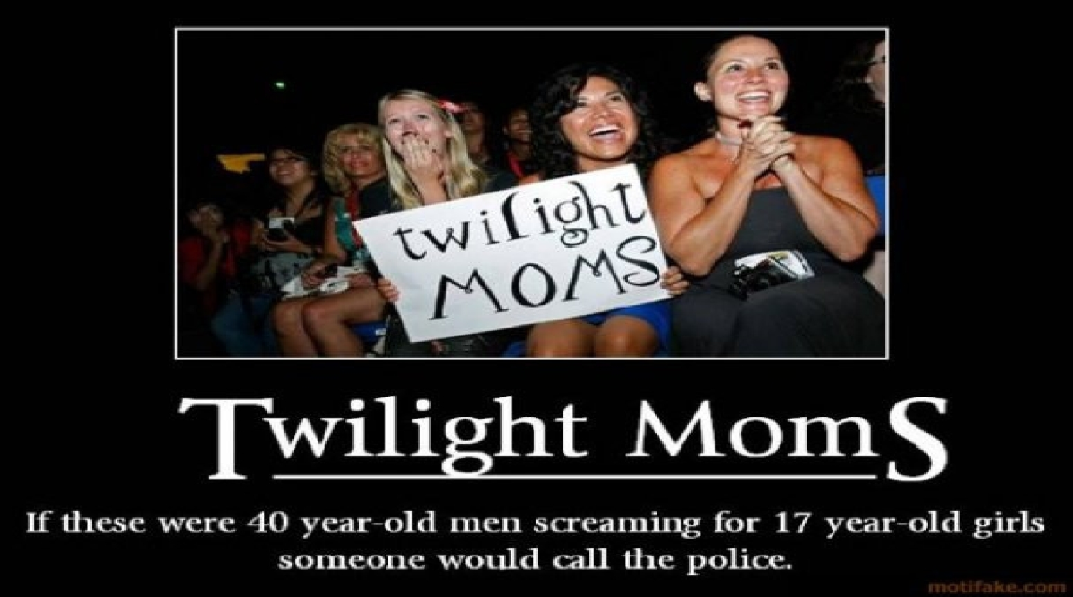 Twilight moms ( bottom is funny )