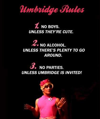 Umbridge Rules