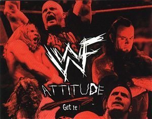 WWF Attitude Era achtergrond containing anime titled WWF Attitude