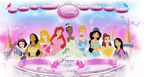 Web Disney Princess