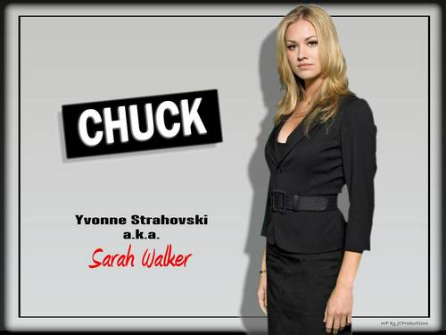 Yvonne Strahovski wallpaper with a well dressed person and a business suit titled Yvonne Strahovski