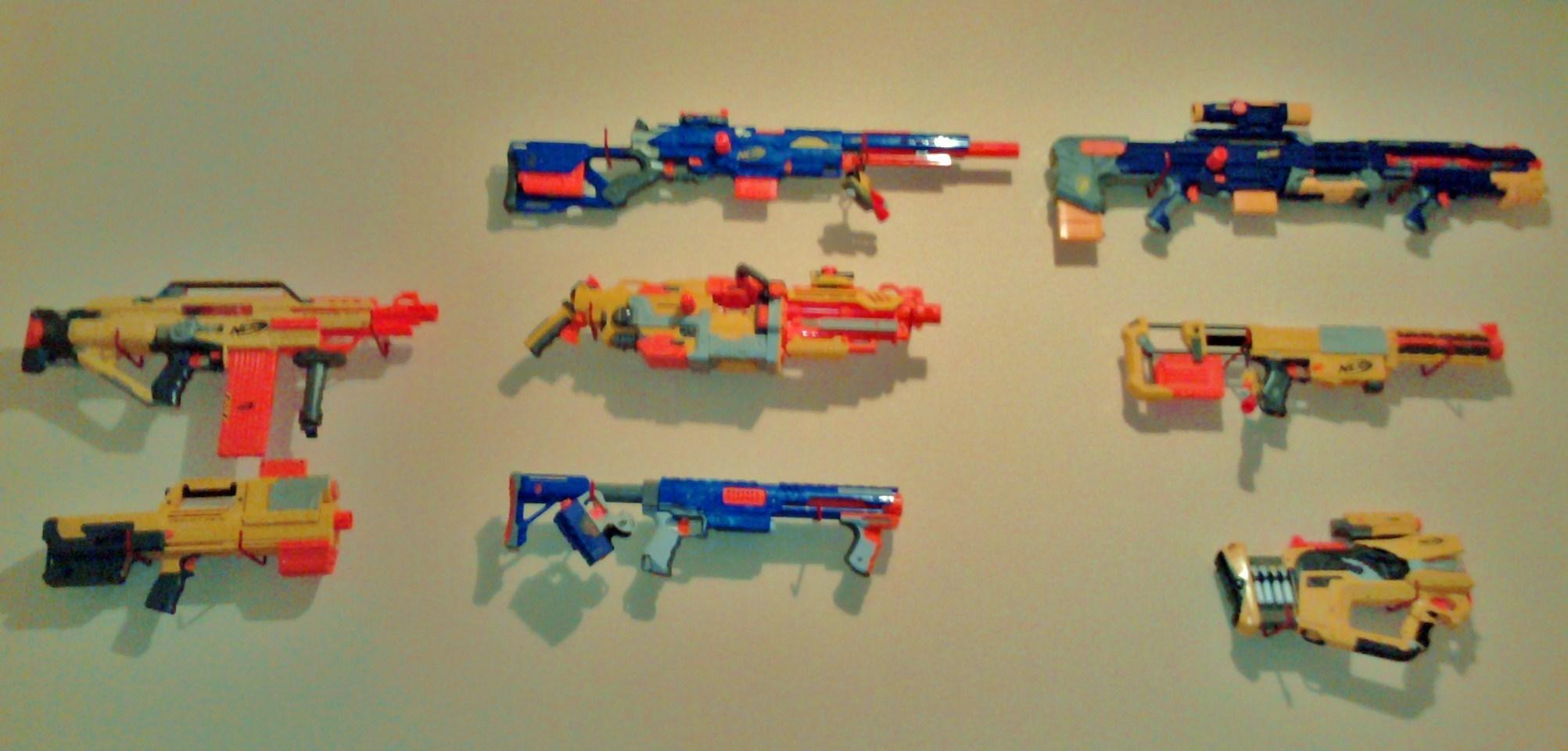 Nerf Gun Arsenal Nerf Guns desiccator s nerf