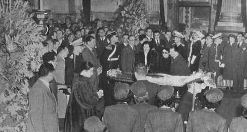 eva peron funeral