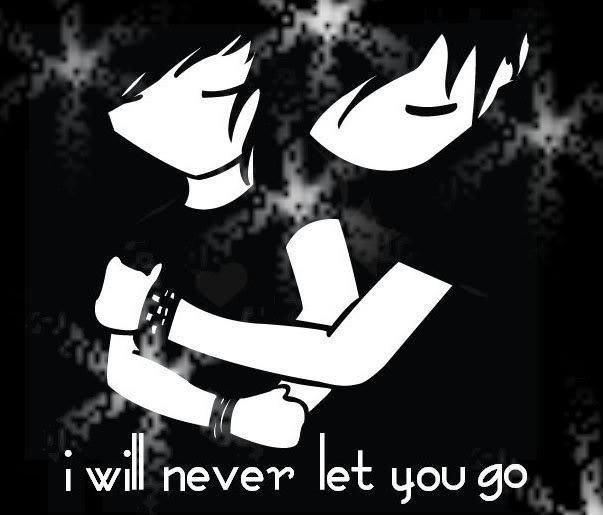 Emo Love couple Wallpaper : Anime couple I Love You Quotes. QuotesGram