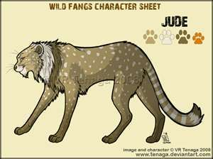wild fangs wallpaper possibly containing anime titled jude