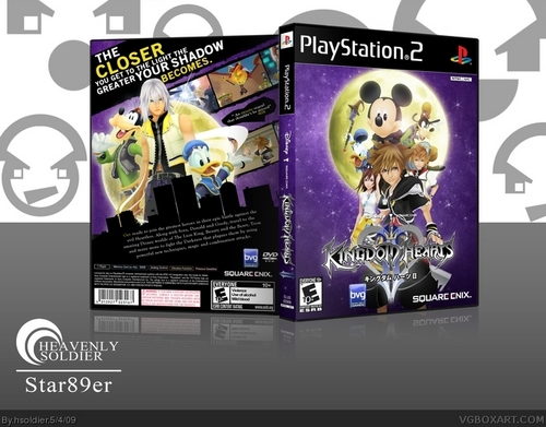 kingdom hearts 2 other cover