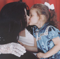 paris&daddy michael - michael-jackson photo
