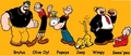 popeye and friends - popeye photo