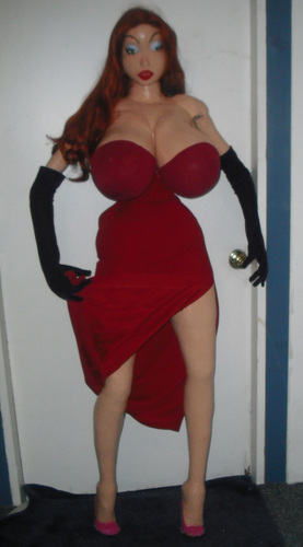 Jessica Rabbit Hintergrund called the real life jessica rabbit