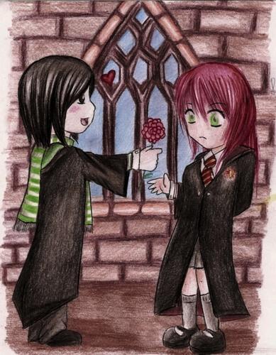 young Severus Snape