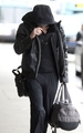 """Breaking Dawn"" Stars Jet Out of LAX Airport - twilight-series photo"