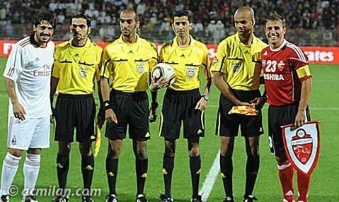 DUBAI, AL AHLI 1 - 2 MILAN (Friendly football match.)