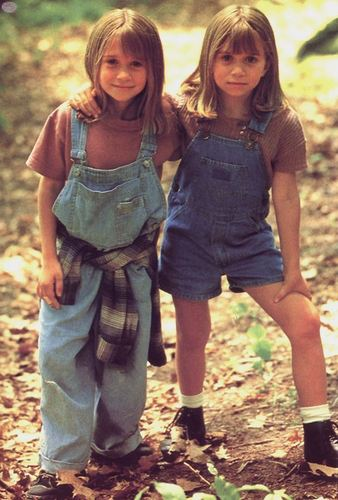 Mary-Kate & Ashley Olsen 壁纸 possibly with a 护根, 覆盖, 覆盖物 entitled 1995 - It Takes Two