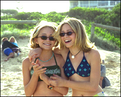 Mary-Kate & Ashley Olsen wallpaper with a bikini titled 2000 - Our Lips Are Sealed