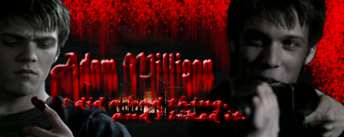 Winchester Girls wallpaper titled Adam Milligan/Winchester:)